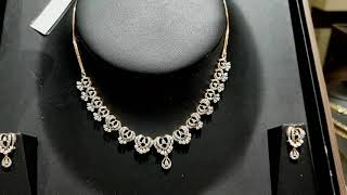 Tanishq Diamond Necklace Designs with Price