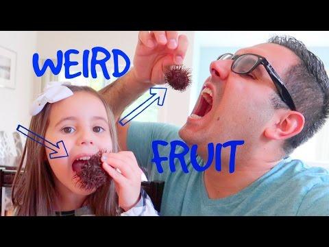 😝 EATING STRANGE FRUIT 🙊