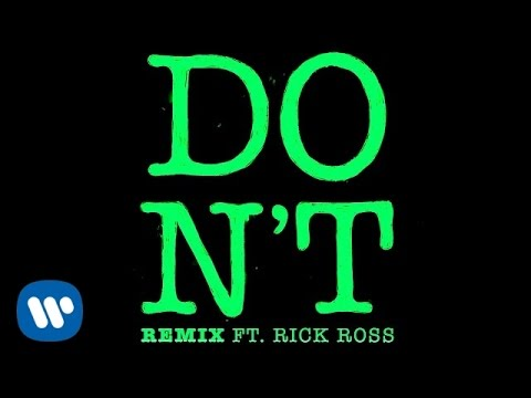 Thumbnail: Ed Sheeran - Don't (Remix ft. Rick Ross) [Official]