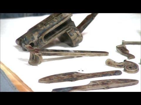 Gunsmithing - Color Case Hardening a Parker Shotgun