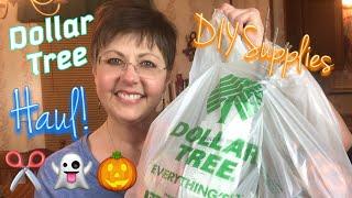 Huge Dollar Tree Haul 🌲 | September 28, 2018 🍁👻🎃🎅🏻