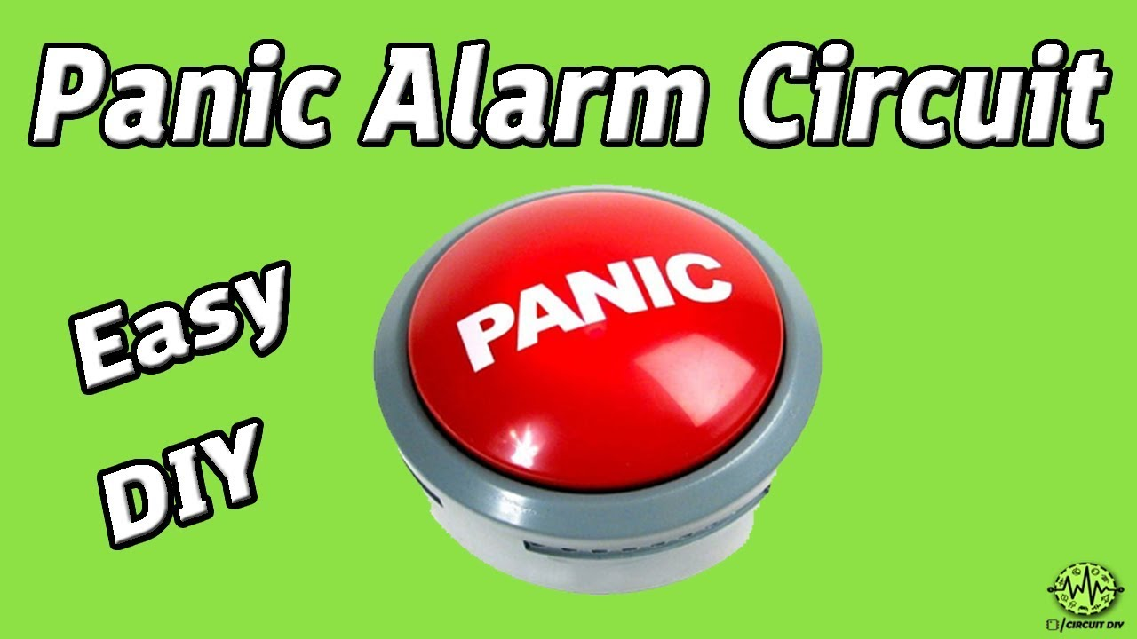 Panic Button Circuit Easy Diy 555 Timer Ic Simple Photo Alarm Electronics Projects How To