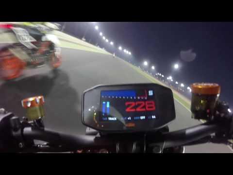 KTM 1290 Super Duke R 2017 On Board Losail Track