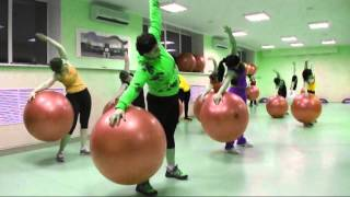 cardio fitball;кардио фитбол ; инструктор Матрунич Екатерина