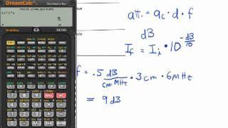 Ultrasound Physics: Attenuation Coefficient, Ac
