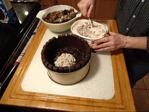 Kit Kat Ice Cream Cake Video