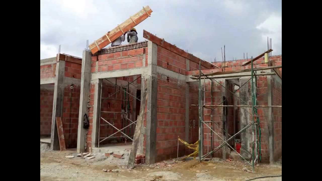 proceso de construccion obra mocawa casas de campo octubre