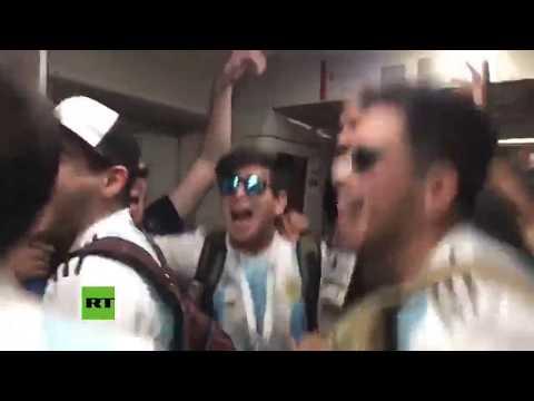 Mundial Rusia 2018: Mire como los argentinos demuestran la pasión por la camiseta