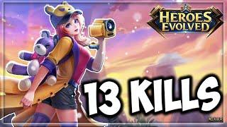 Heroes Evolved - Zoe Build | New Hero | Ranked Gameplay screenshot 4