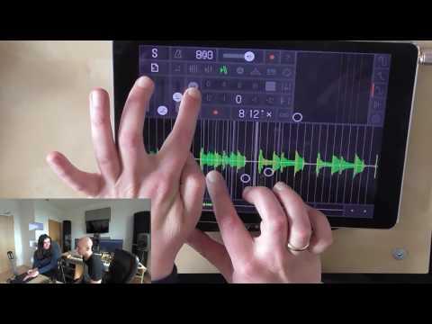 iPad Music App - Samplr - Arrangement out of one Sample - Sound á la carte