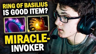 INTENSE MID BATLE MIRACLE- INVOKER vs MAGE- PUCK | WHO WILL BE THE WINNER?? - DOTA 2 INVOKER 7.21