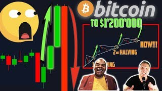 ALARMING!!!!!!!! BITCOIN HUGE PUMP THEN DUMP TO THIS PRICE!! [$1'200'000 by 2021...]