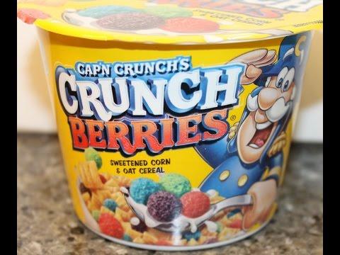 Cap'n Crunch's Crunch Berries Sweetened Oat & Corn Cereal Review