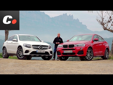 BMW X4 SUV vs Mercedes-Benz GLC Coupé | Comparativa | Prueba | Coches.net