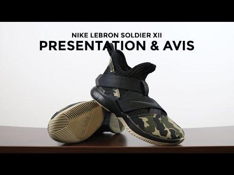 Nike Lebron Soldier XII : Présentation et avis