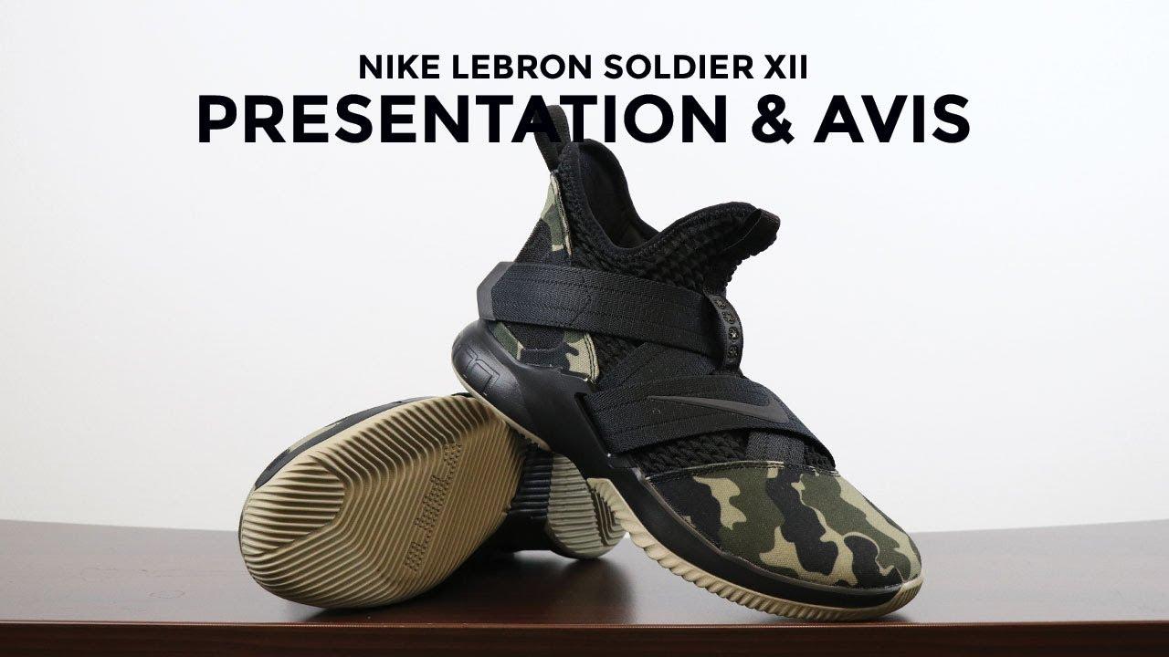 d378369c9a05 Nike Lebron Soldier XII : Présentation et avis - YouTube