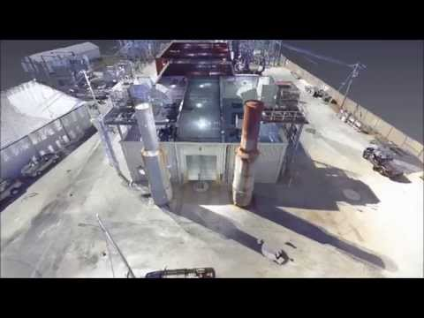 3D Laser Scan of Waterloo Illinois Power Generation Plant