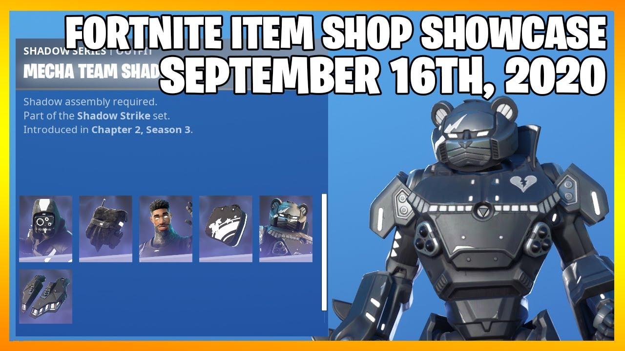 Fortnite Item Shop *NEW* SHADOW STRIKE PACK! [September 16th, 2020] (Fortnite Battle Royale)