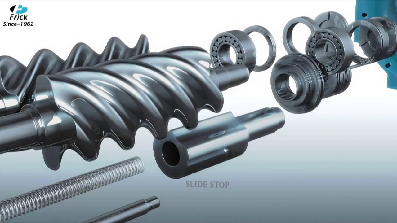 frick india screw compressor youtube rh youtube com frick screw compressor spare parts Frick Ammonia Compressors Manual
