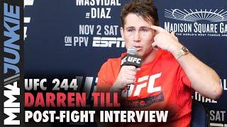 UFC 244: Darren Till post-fight interview