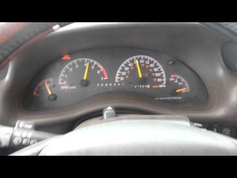1998 Pontiac Grand Prix GTP 0 - 120 mph
