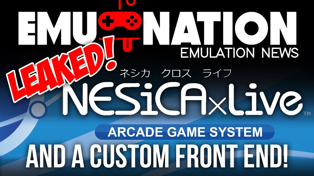 Nesica Front End and NEW Arcade Dumps! - Front-End Demos - EmuMovies