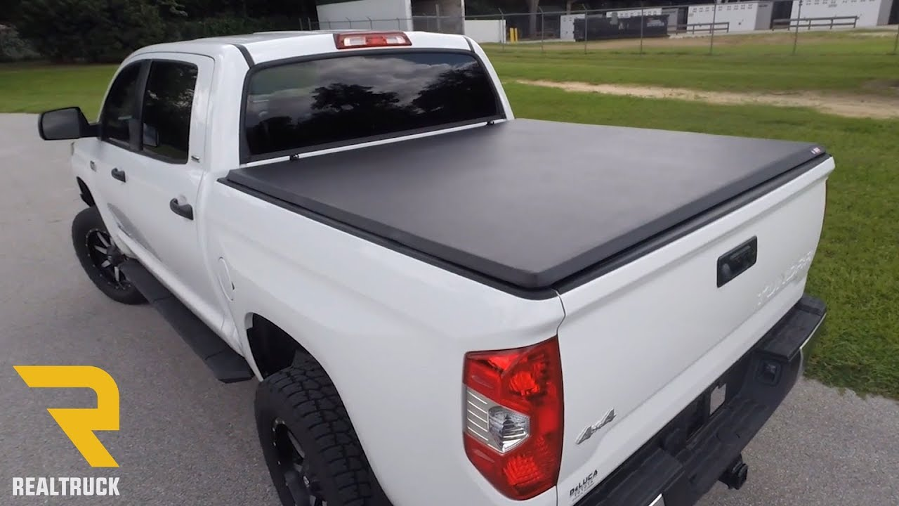 American Hard Tri Fold Tonneau Cover Fast Facts On A 2014 Toyota Tundra Youtube