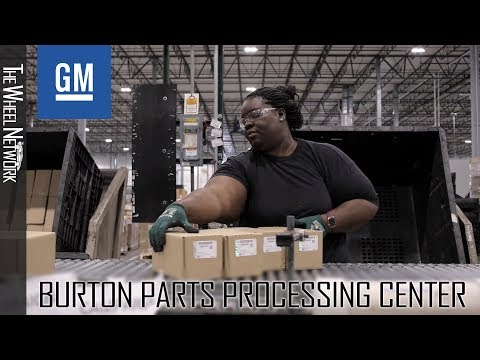 General Motors Burton Parts Processing Center In Michigan – Opening Ceremony And Footage
