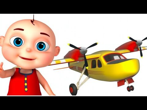 Thumbnail: Airplane Assembly Video For Children | Vehicle Construction For Kids | Videos For Toddlers