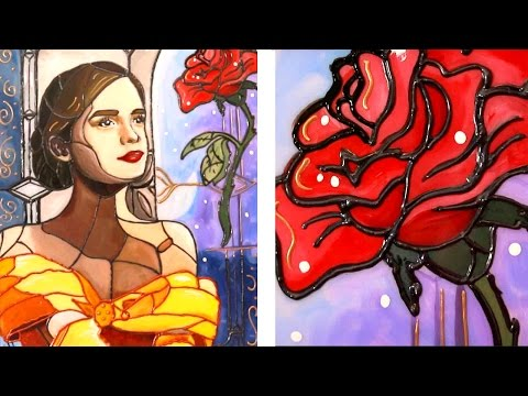 Beauty and the Beast - Stained Glass (Emma Watson)