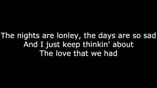 Nobody Knows - Tony Rich Project - Lyrics on Screen [HD]