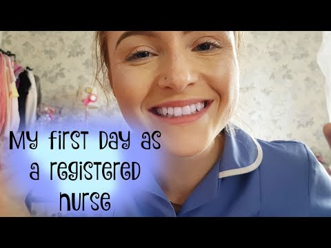 First Day As A Newly Qualified Nurse (NHS)