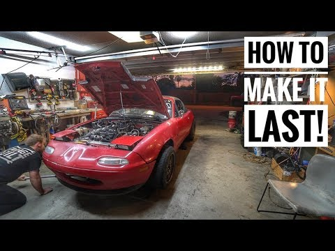 Prepping a Blown up Car For a 3 Day Drift Event