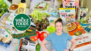Whole Foods Grocery Haul!   Vegan & Prices Shown!   September 2021