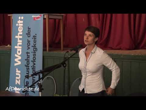 Der Abend mit Frauke Petry in Sebnitz 10 Aug 17 mit Andre Barth und Uwe Wurlitzer