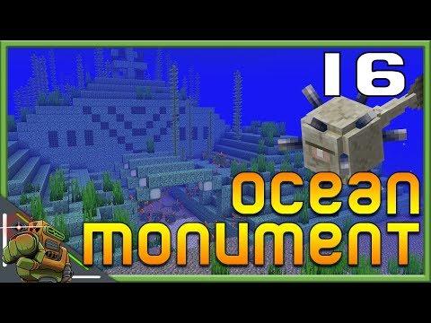 Ocean Monument Raid & Conduit | Minecraft Let's Play | Season 1 Episode 16