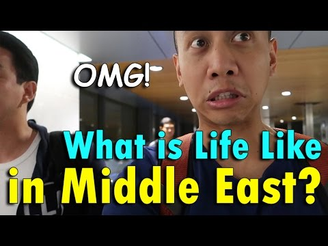 WHAT IS LIFE LIKE IN THE MIDDLE EAST? (Doha, Qatar) | April 20th, 2017 | Vlog #89