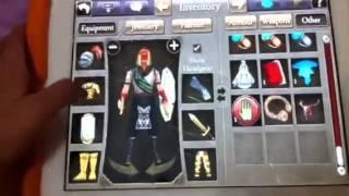 Celtic Heroes: My inventory DANU