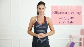 Budi fit: 5 efikasnih vežbi koje možeš da uradiš sama (2. deo)