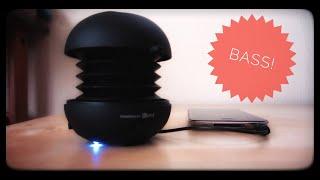 XMI X-Mini II Capsule Speaker Bass Test (1080p)