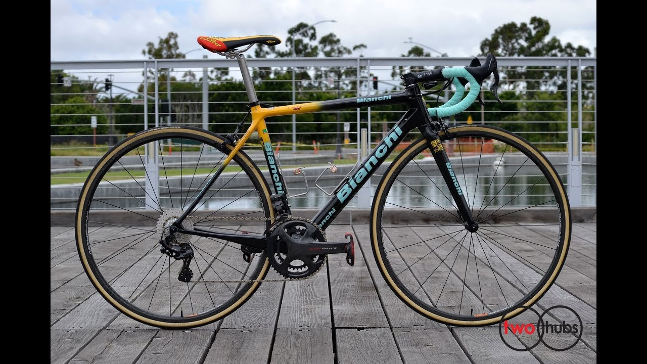 Bianchi Specialissima CV Pantani 20 Anniversary Oropa Edition Complete Bike  at twohubs com