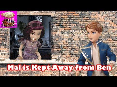 Mal is Kept Away from Ben - Part 25 - Descendants Monster High Series