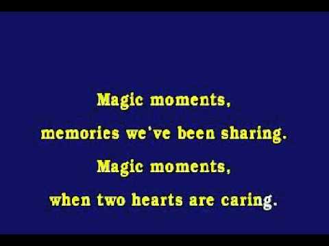 Jv0008 06   Como, Perry   Magic Moments [karaoke]