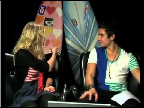 Blue Water High chat Adam and Cariba