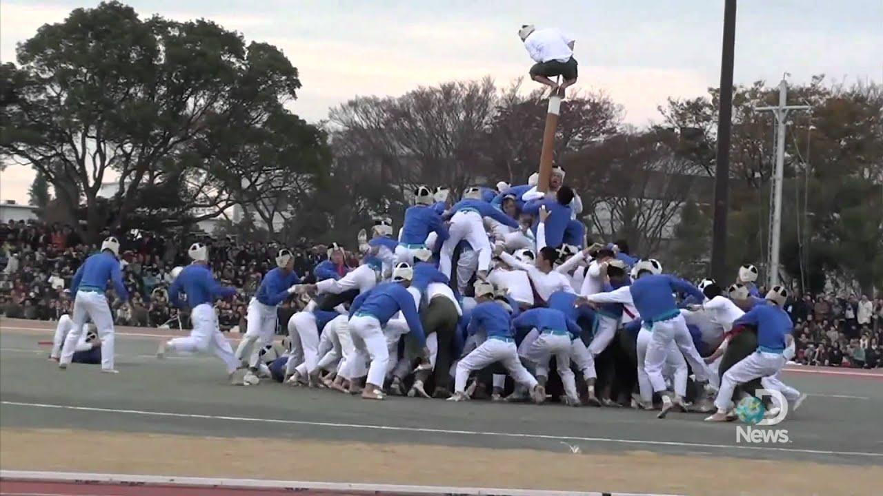 Weird Japanese Sport Botaoshi Explained