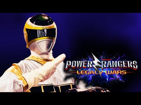 Power Rangers: Legacy Wars -ZHANE Silver Space Ranger
