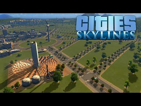 Cities Skylines (Español) #12 - Planta Solar & Oficinas