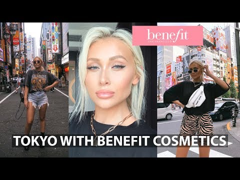 TOKYO VLOG | WITH BENEFIT COSMETICS thumbnail