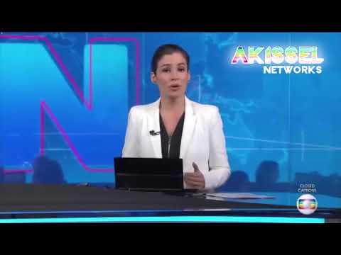 """[TESTE DE LOGO] """"Jornal Nacional"""" em """"Akissel Television"""" 16/02/2018."""
