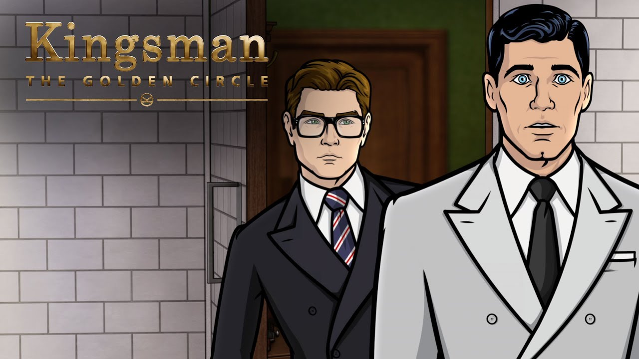 Download #TBT to That Time Archer Met Kingsman